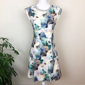Rebecca Taylor floral rose print dress